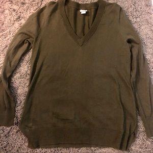 Jcrew V neck sweater!